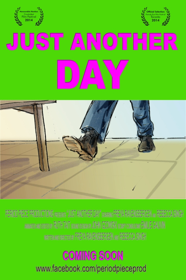 JUST ANOTHER DAY Movie Poster